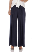 Wayfarer pant  navy  with serenity top  ivory  small2
