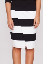 Hazel striped skirt w blk snowdrop top small2