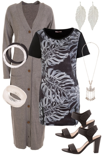 Grey Scale Glamour