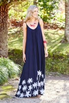 Bonnie Maxi Dress Tropical Paradise