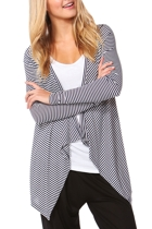 Melbourne cardi navywhite stripe crop small2