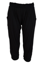 Tokyo 3 4 pant black front small2