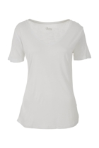 Manhattan v neck tee white small2