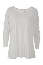 Milan 3 4 sleeve top white small2