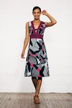 Olivia cotton dress afrinavy small2