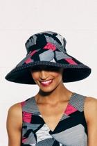 Braod brim reverible hat africnavy small2