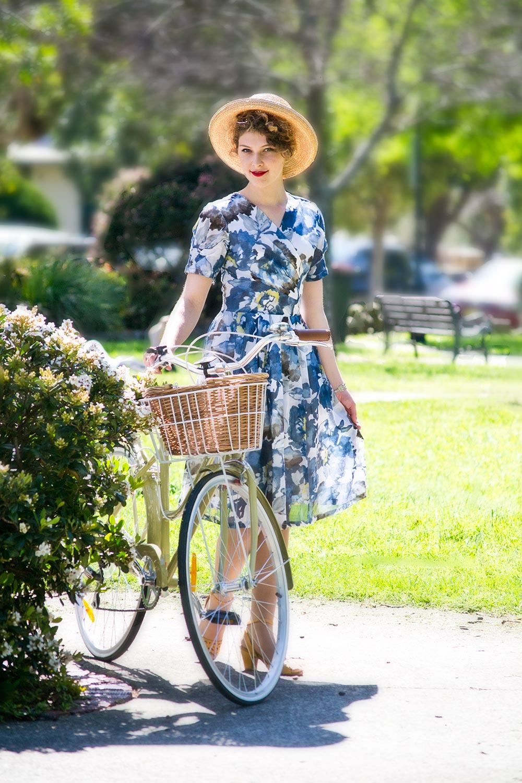 Forget Me Not Dress AUD 109.00 AT vintagedancer.com
