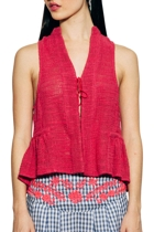 Aroo vest pink cropped small2