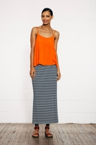 Split maxi skirt stripe small2