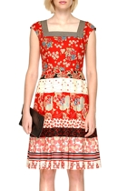 New horizons dress in red small2