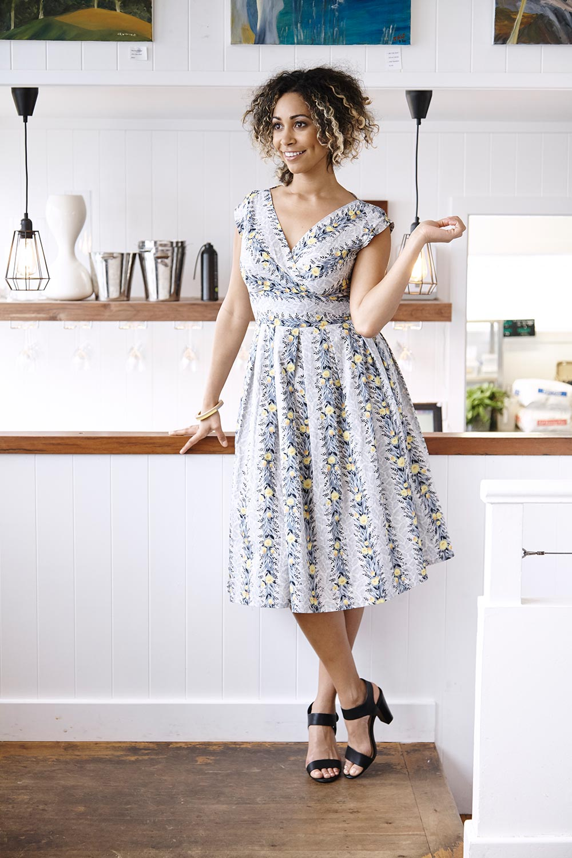Grace Dress AUD 105.00 AT vintagedancer.com