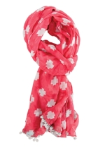Summer scarf cross coral3 small2