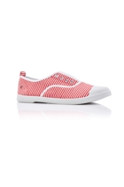 Euro elastic plimsol l red stripe small2