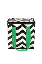 Project ten black chevron insulated tote s small2