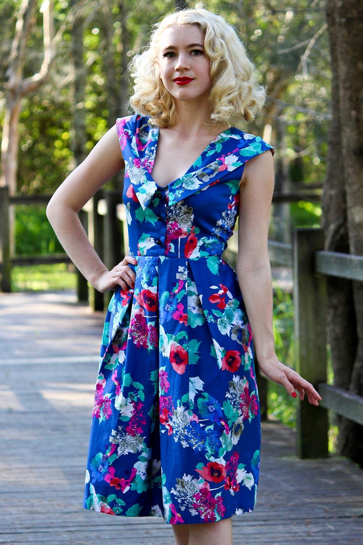 Beginia Dress AUD 145.00 AT vintagedancer.com