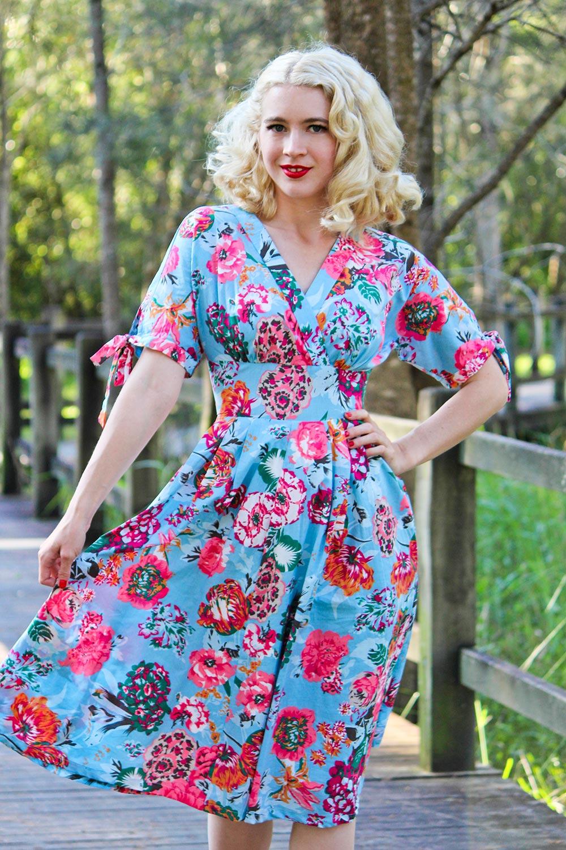 Madoka Dress AUD 129.00 AT vintagedancer.com