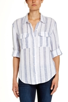 Jww166185 ls stripe linen shirt  french navy  1  small2