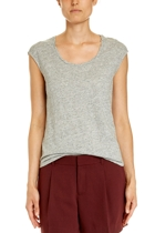 Jww167266 rope neck tee  grey marle  1  small2