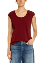 Jww167266 rope neck tee  mulberry  1  small2