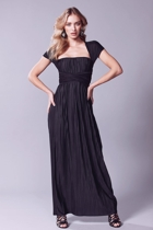 Grecian convertible dress  black   cap sleeve  small2