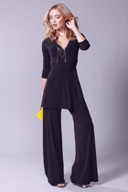 Turnaround tunic  black  seamless pants  black   2  small2