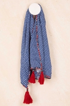 Boo scarf s15  batikblue small2
