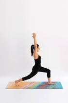 Monavale beach yoga mat pose small2