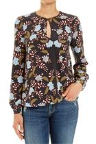Jww166225 ls flora blouse  multi  1  small2