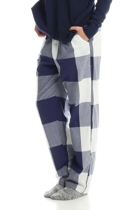 Large plaid pants and jumper navy 21 small2