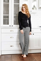 Chevron pant   claire top blk rt small2