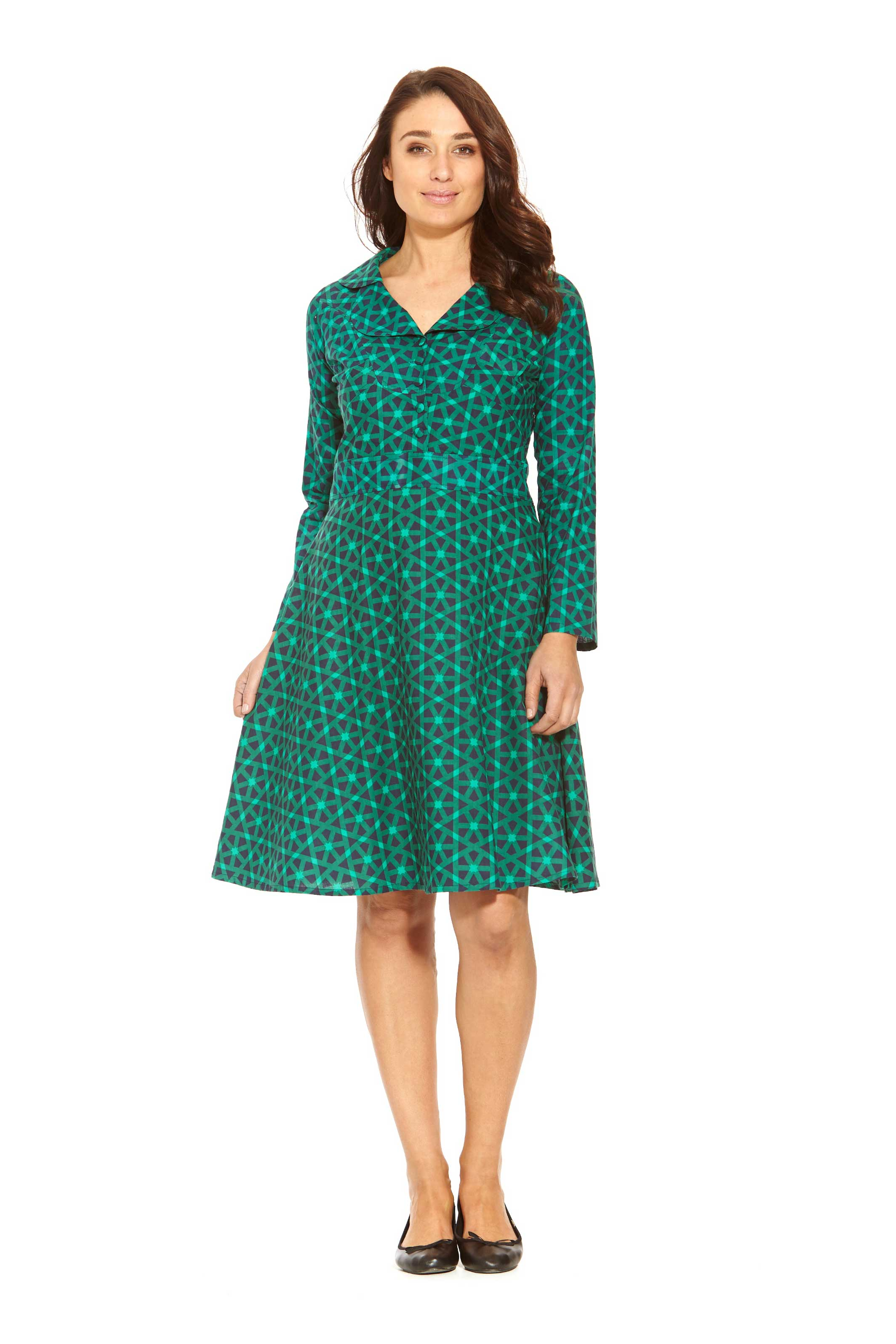 Quite a few designers tailor ladies dresses fusing a mix of cotton and polyester to make the fabric tougher and shinier. For a stretched fit, lycra is also added to the mix. There are lots more to pick from at StalkBuyLove when it comes to online shopping in India for your preferred dress.