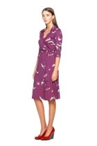 Taking flight dress in violet small2