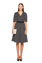 Matchmaker dress in black spot small2