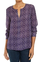 Jww166229 ls print pleat front blouse  multi  1  small2