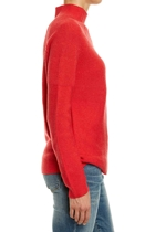 Jww168114 ls funnel nk knit  flame melange  2  small2