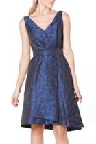 Now or never dress  blue black jacquard   3  small2