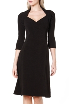 Marique a line dress  black  hero small2