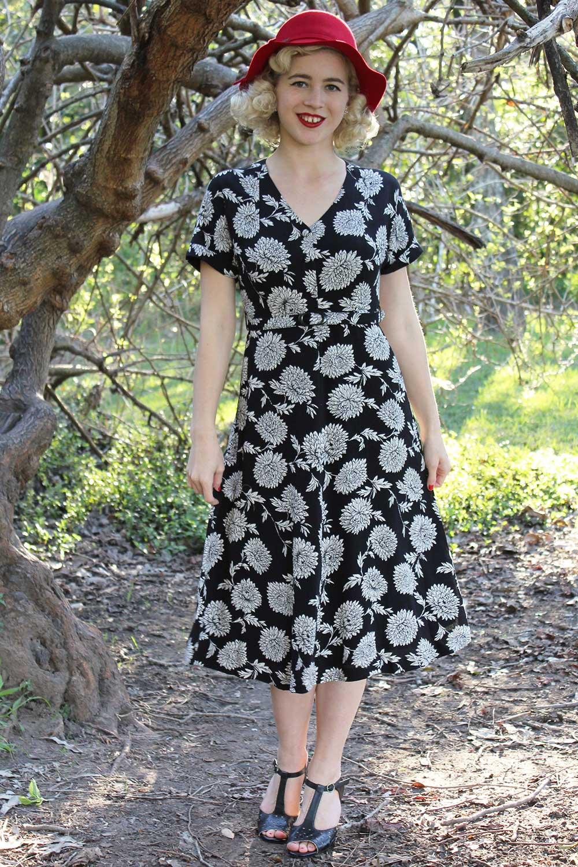 Amaka Shirt Dress AUD 169.95 AT vintagedancer.com