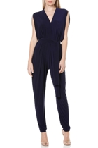 Solange jumpsuit  navy  belted at waist  hero1 small2