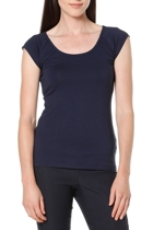 Cap sleeve top  navy   2 1 small2