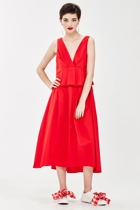 Lady in red nice to pleat you 1 small2
