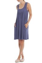 Modal blue nightie front 3 small2