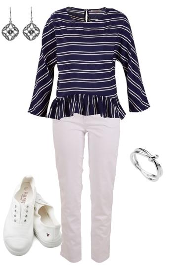 Stripe Frills