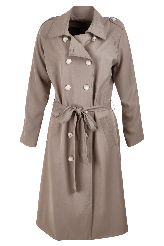 Classic womens trench coat